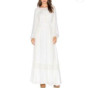 NWT Revolve Majorelle Boho Prarie Lace Maxi Dress